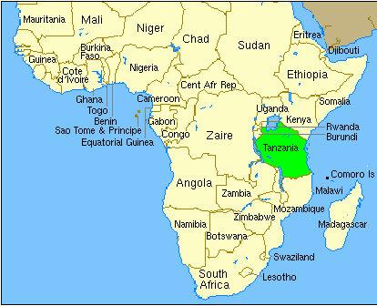 Where Is Tanzania In Africa Love Uganda Safaris - Where is tanzania