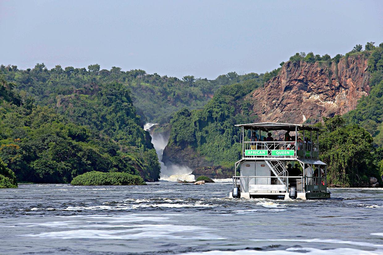 Boat trips in Uganda