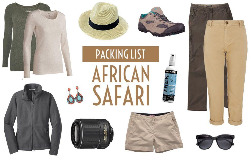 Packing for a Uganda Safari.