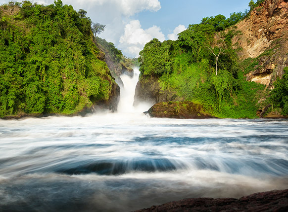 The Murchison falls in Uganda, Murchison falls national park, Safaris in Uganda