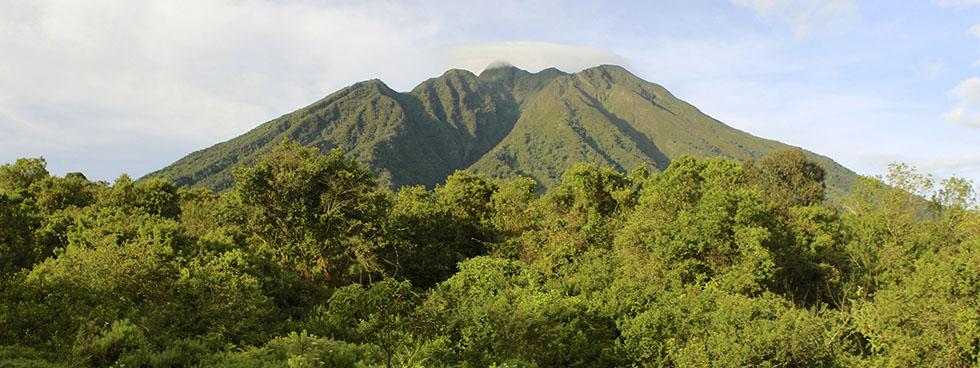 mountaineering in Mgahinga national park